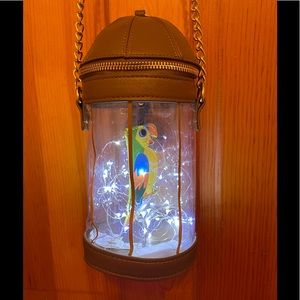 NWOT Loungefly Disney Tiki Room Jose Cage Crossbody Bag